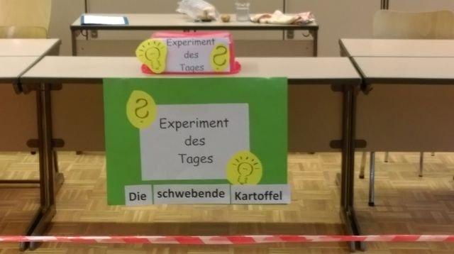 Experiment des Tages 348